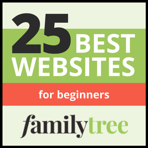 Family Tree Badge - 25 Best Websites for Beginners
